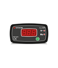 DV-0101 96x48 <b>Digital Voltmeter</b> - DATAKOM ELECTRONICS ...